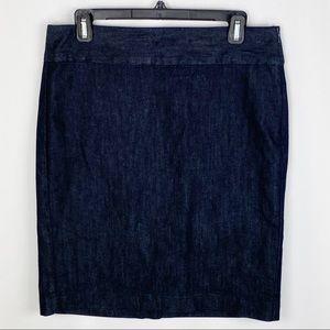 Tommy Hilfiger Stretch Denim Pencil Skirt
